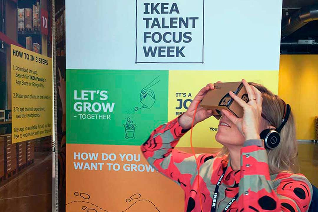 Ikea Is Using Virtual Reality For