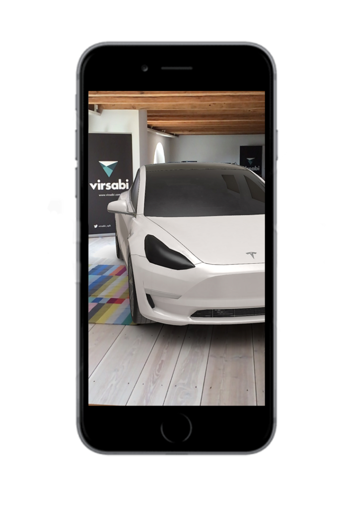 Tesla webAR